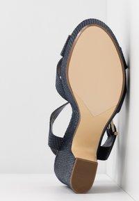 Dune London - IYLENES - High heeled sandals - navy - 6
