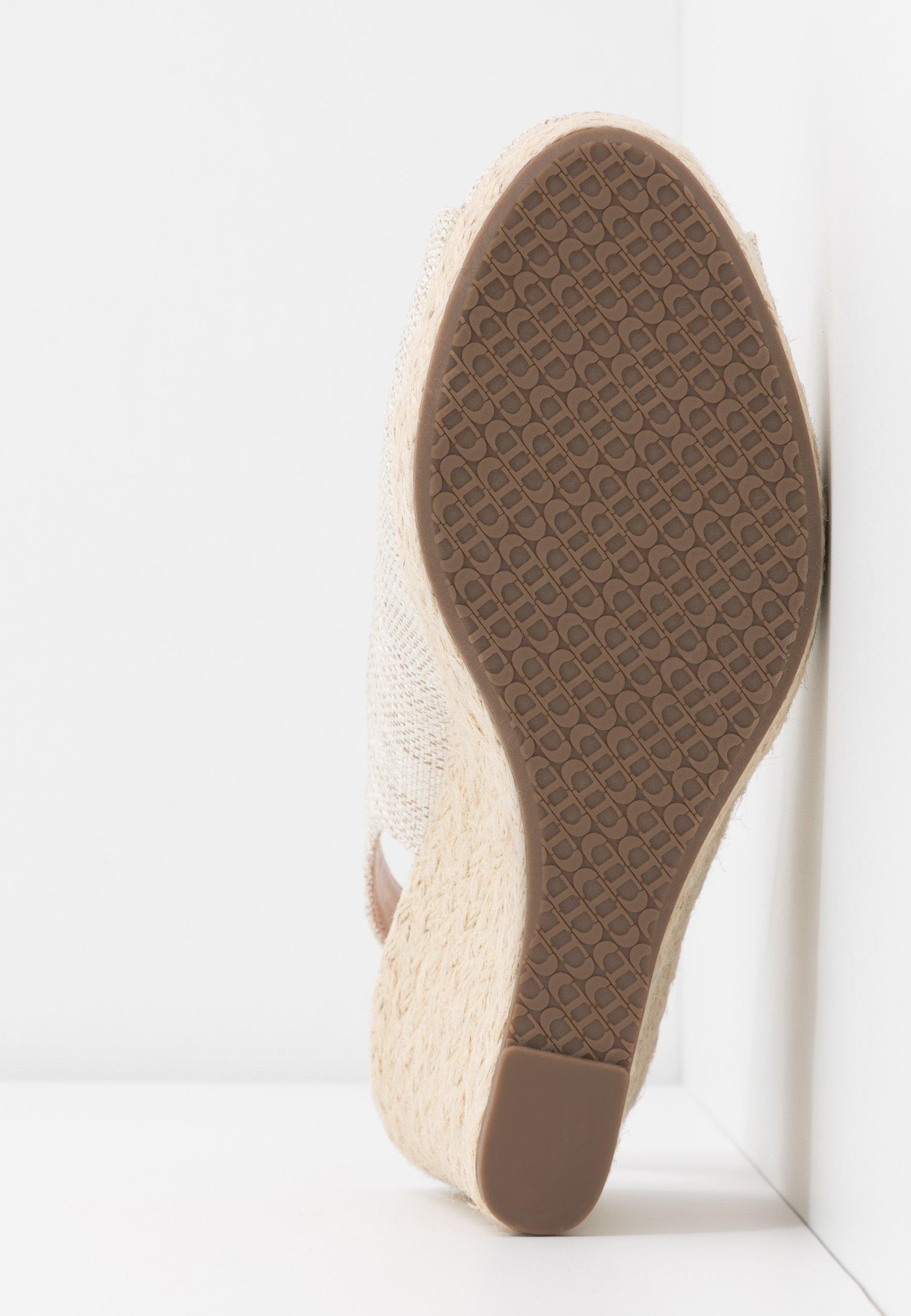 Dune London KICKS - Sandały na obcasie - natural