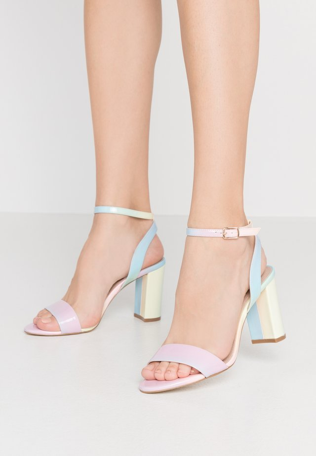 MOTION - High heeled sandals - multicolor
