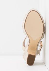 Dune London - JIYLA - High heeled sandals - natural - 6