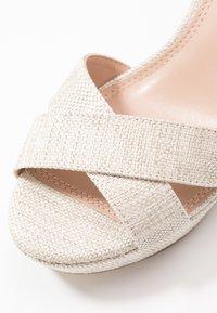 Dune London - JIYLA - High heeled sandals - natural - 2