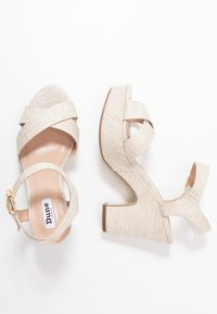 Dune London - JIYLA - High heeled sandals - natural - 3