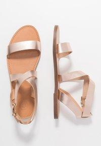 Dune London - LEELAH - Sandaalit nilkkaremmillä - rose gold - 1