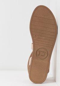 Dune London - LEELAH - Sandaalit nilkkaremmillä - rose gold - 4