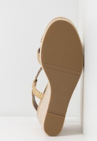 Dune London - KEW - High heeled sandals - gold - 4