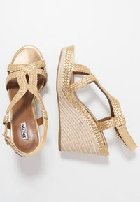 Dune London - KEW - High heeled sandals - gold - 1