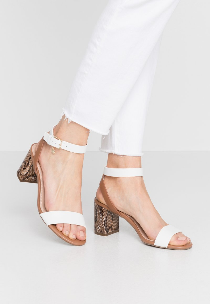 Dune London - MEMEE - Sandals - white