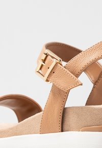 Dune London - KYOTO - Platform sandals - caramel - 2