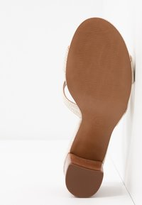 Dune London - JOUPE - Heeled mules - natural - 6