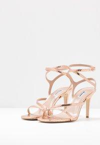 Dune London - MIGHTEYS - High heeled sandals - rose gold - 4