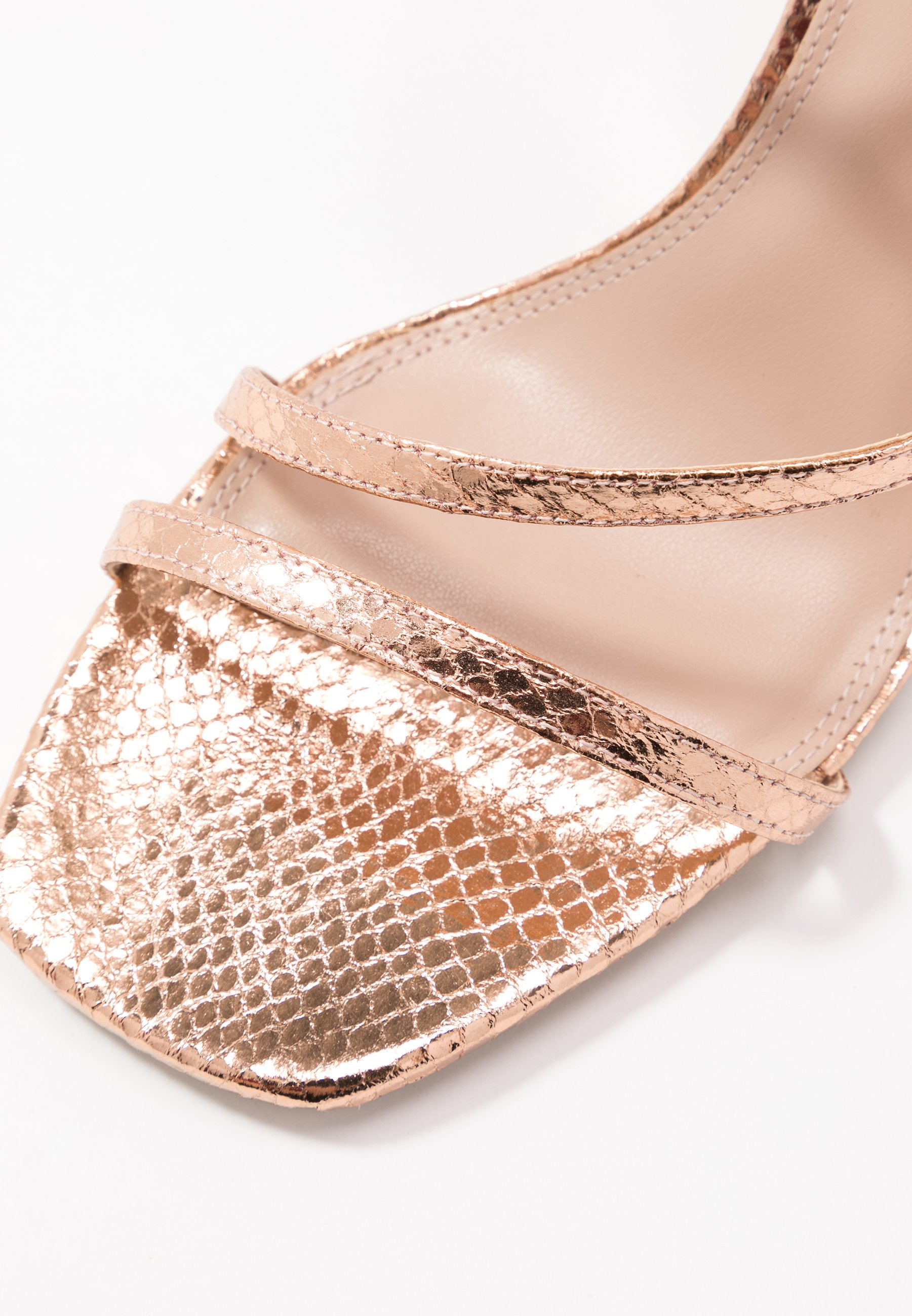 Dune London MIGHTEYS - Højhælede sandaletter / Højhælede sandaler - rose gold