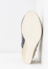 Dune London - KNOX - High heeled sandals - navy - 6