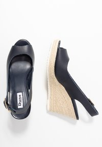 Dune London - KNOX - High heeled sandals - navy - 3