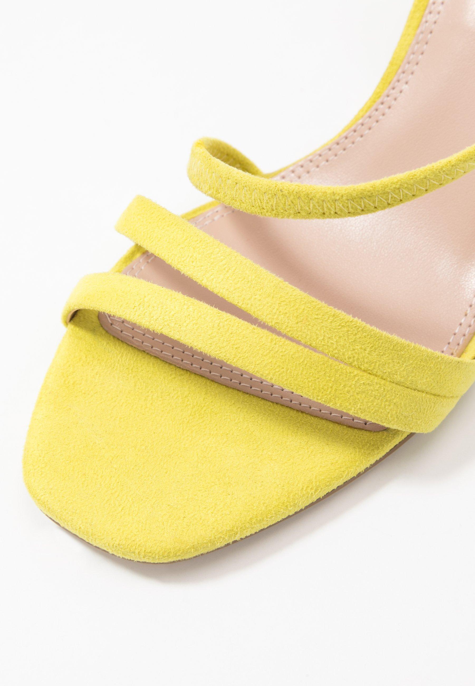 Dune London MISO - Sandały - yellow