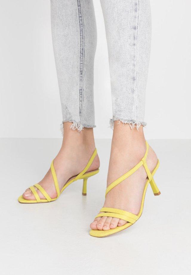 MISO - Sandals - yellow