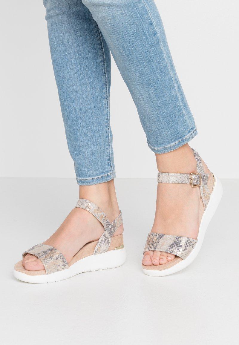 Dune London - KYOTO - Platform sandals - grey