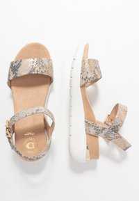 Dune London - KYOTO - Platform sandals - grey - 3