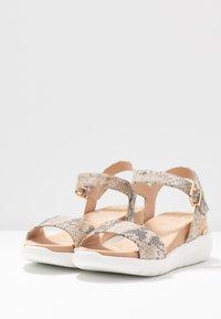 Dune London - KYOTO - Platform sandals - grey - 4