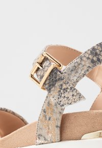 Dune London - KYOTO - Platform sandals - grey - 2
