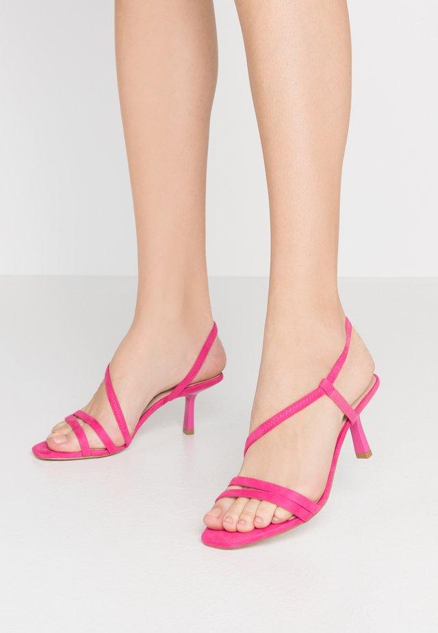 MISO - Sandály - pink