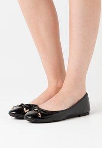 Dune London - HARPAR - Ballet pumps - black - 0