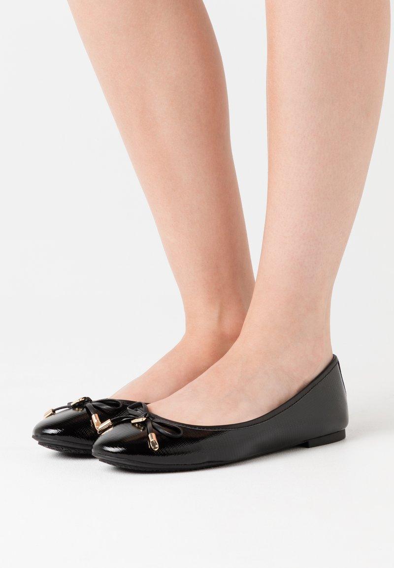 Dune London - HARPAR - Ballet pumps - black