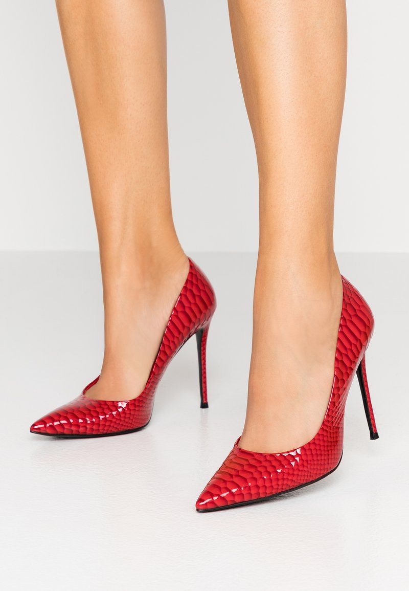 Dune London - AQUARIES - High heels - red