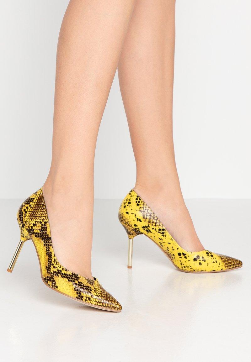 Dune London - BUSINESS - Zapatos altos - yellow