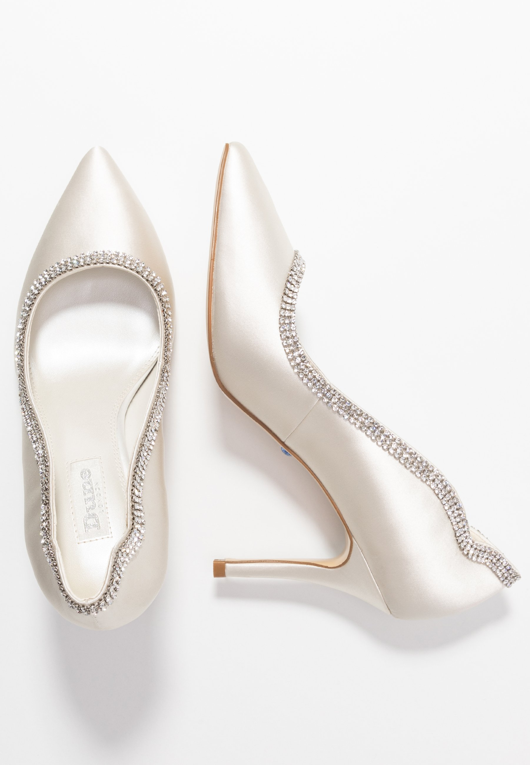 Dune London Belief - Klassiska Pumps Ivory
