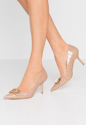 BRIONI - Classic heels - camel