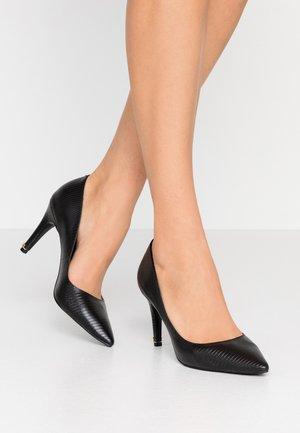 ANNA - Zapatos altos - black