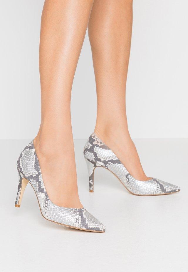 ANNA - High Heel Pumps - silver