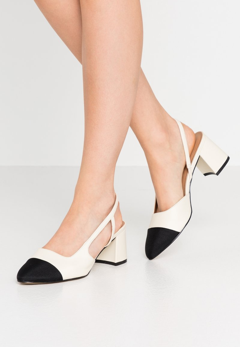 Dune London - CROFTS - Classic heels - ivory