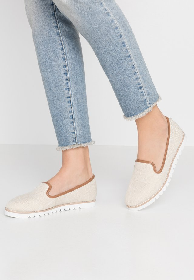 GALLEON - Slip-ons - natural