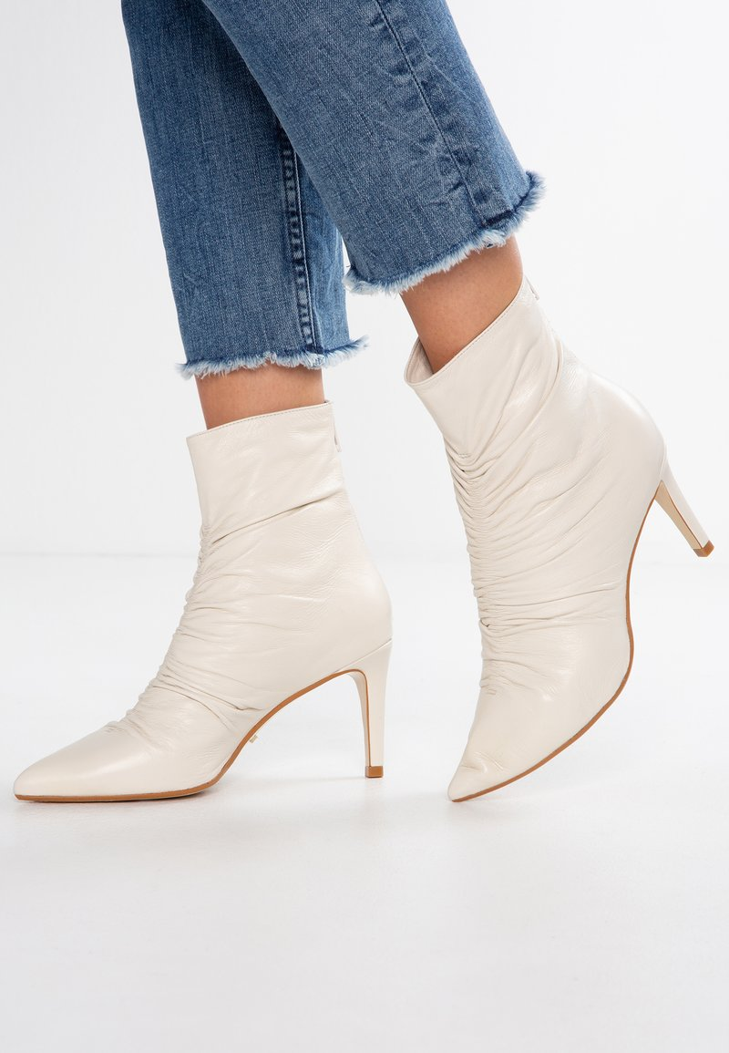 Dune London - OASIS - Classic ankle boots - white