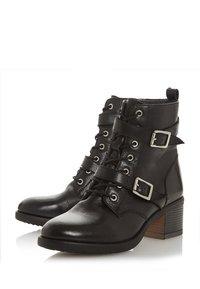 Dune London - Cowboy/biker ankle boot - black - 2