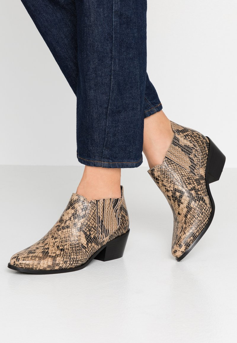 Dune London - PAITIENCEE - Ankle boots - natural