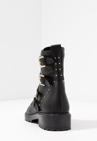 Dune London - REEGANS - Cowboy/biker ankle boot - black - 5
