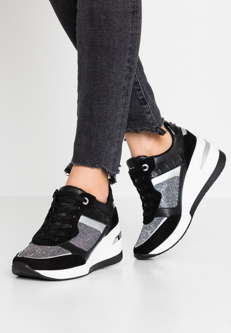 Dune London - EASTON - Sneakers laag - black