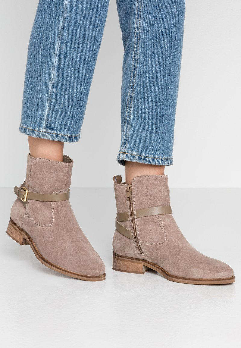 Dune London - PATRIZO - Classic ankle boots - taupe