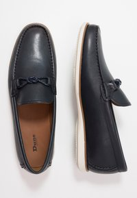 Dune London - BARRIERS - Slip-ons - navy - 1
