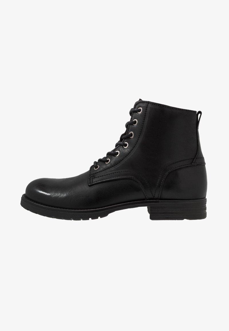 Dune London - CARDIF - Šněrovací kotníkové boty - black