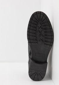 Dune London - CARDIF - Šněrovací kotníkové boty - black - 4