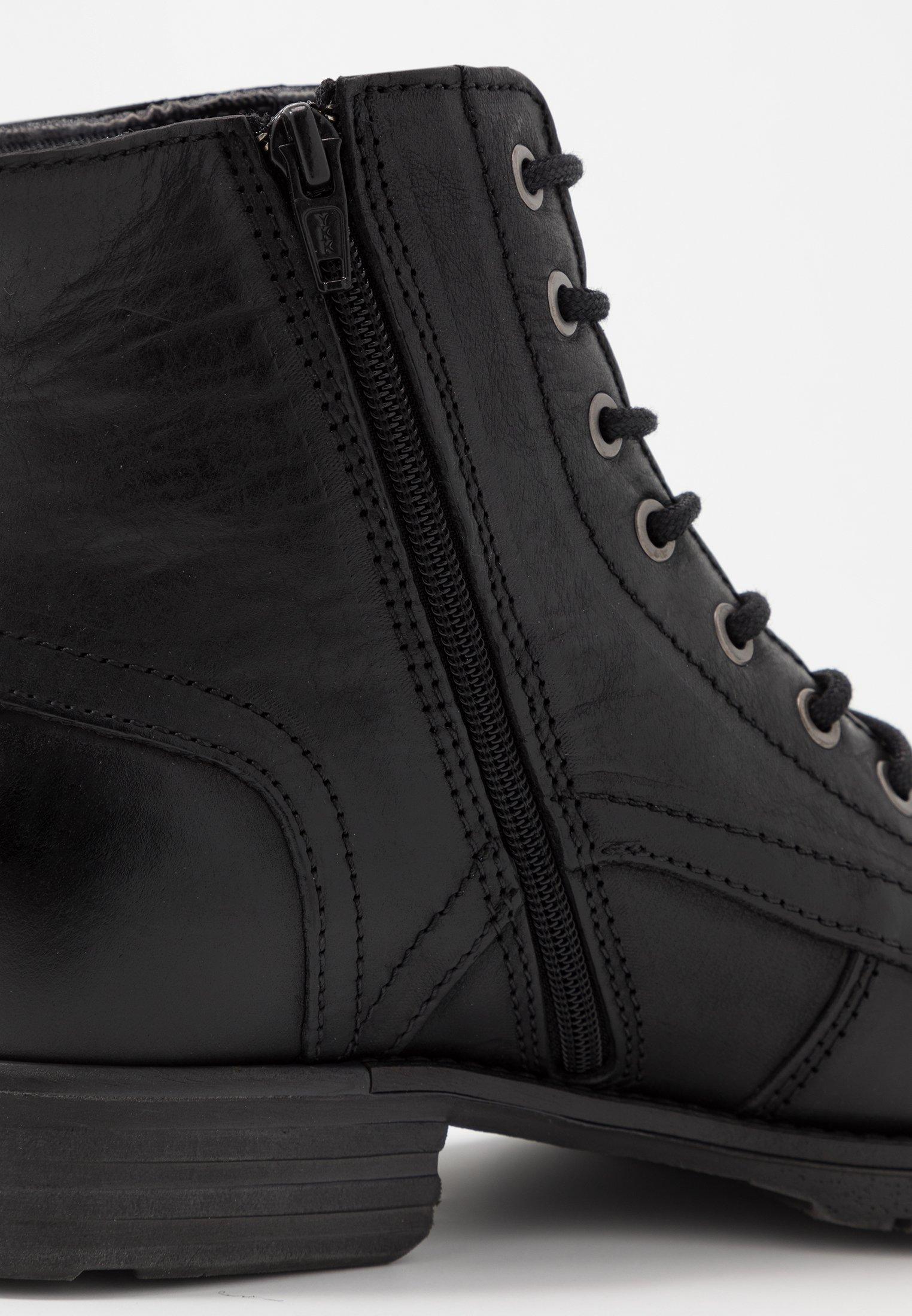 Dune London Cardif - Bottines À Lacets Black