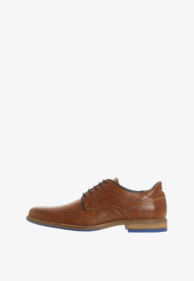 BRAMPTON - Casual lace-ups - light brown