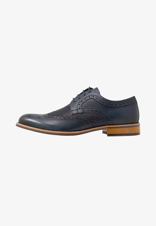 STATIC - Smart lace-ups - navy
