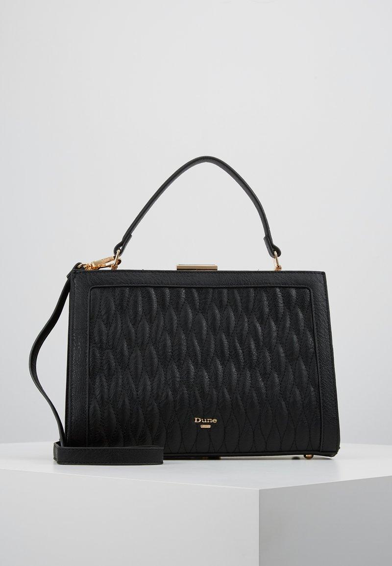 Dune London - DEQUILT  - Handbag - black plain