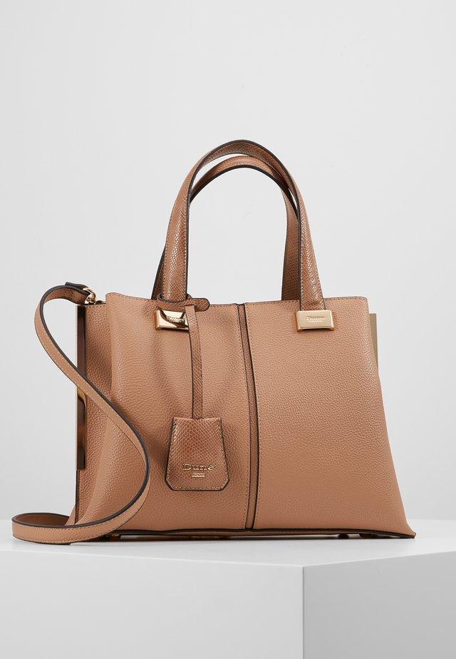DINIDAVARD - Handbag - camel