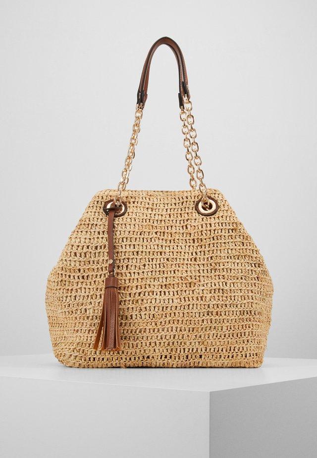 DELLIAH - Shopping bag - beige