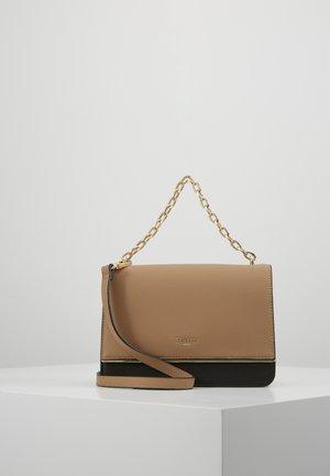 DELIGHTFUL - Across body bag - camel synthetic
